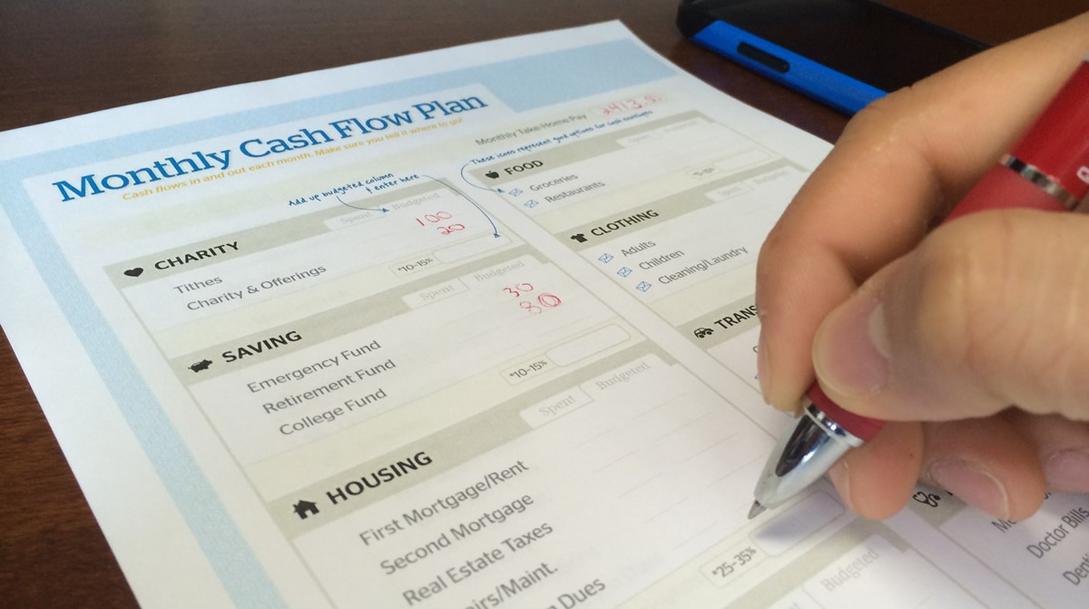 Cash flow planning is just one tool we use to reduce debt.
